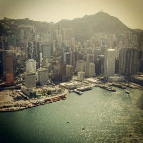 Central Waterfront of Hong Kong