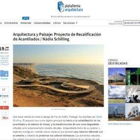 Plataforma Arquitectura e Archdaily Brasil