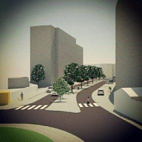 Requalificação da Rua António Sérgio