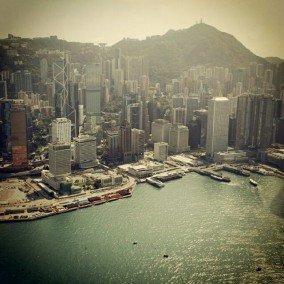 Central Waterfront of Hong Kong